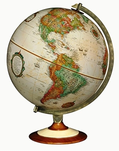 "Picture of Salem 12"" World Globe"