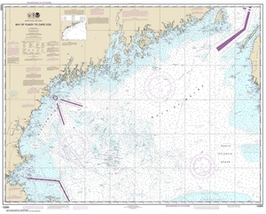 Picture of 13260 - Bay of Fundy To Cape Cod Nautical Chart