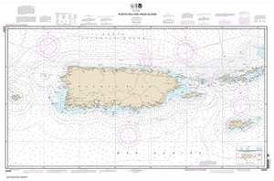 Picture of 25640 - Puerto Rico And Virgin Islands Nautical Chart