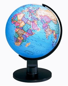"Picture of Trekker 6"" World Globe"