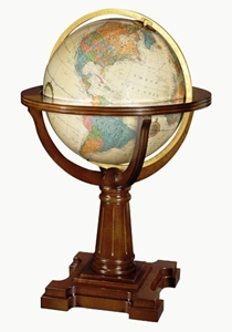 "Picture of Annapolis 20"" Illuminated World Globe"