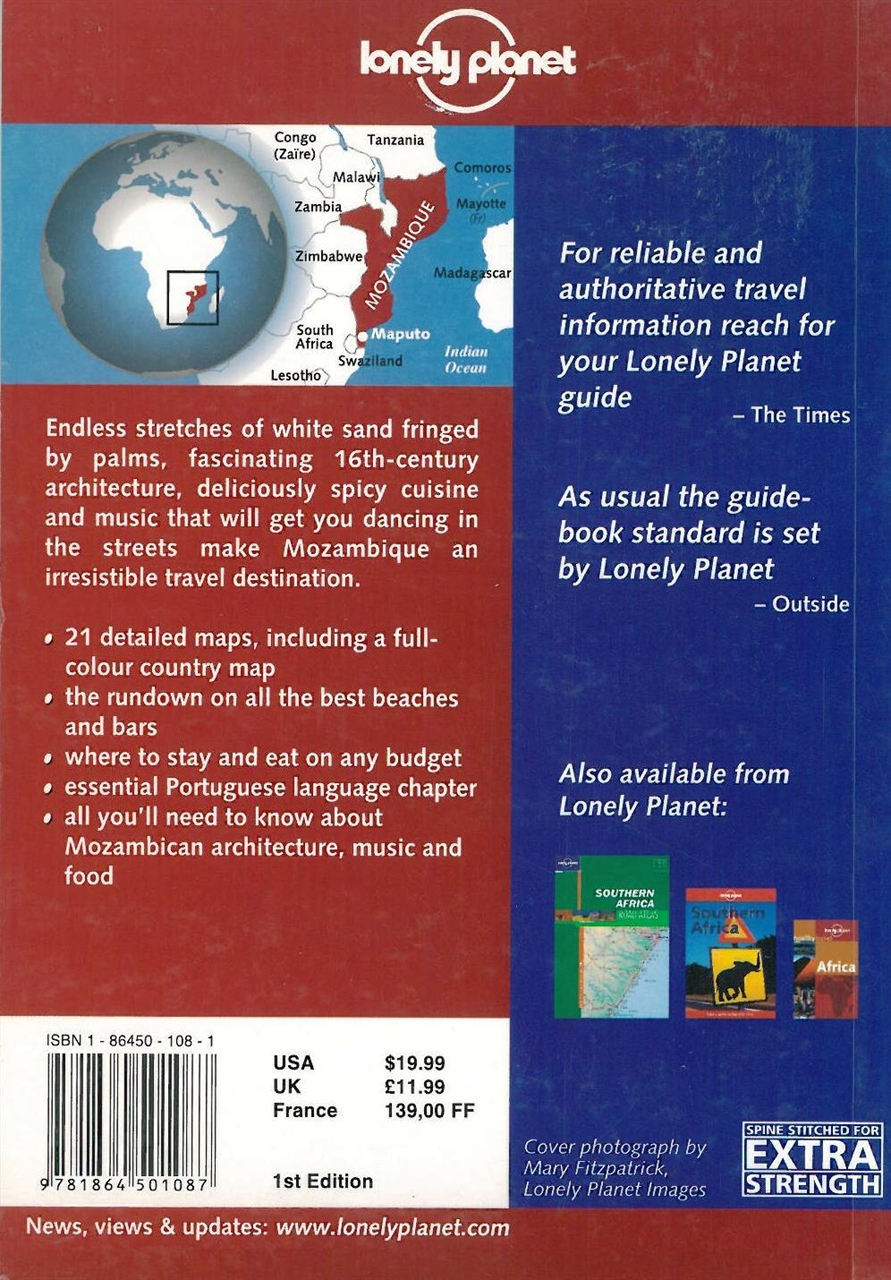 Bradt Mozambique Travel Guide