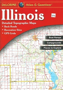 Picture for category ILLINOIS MAPS, ATLASES & GUIDES