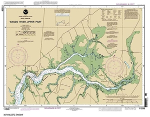 Picture of 11526 - Wando River - Upper Part Nautical Chart