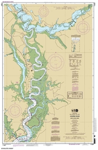 Picture of 11527 - Cooper River Above Goose Creek Nautical Chart