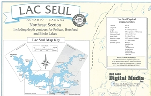 Picture of Lac Seul Northeast & Southeast Section