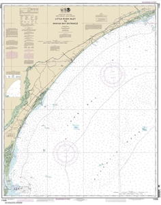 Picture of 11535 - Little River Inlet To Winyah Bay Entrance Nautical Chart