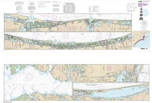 Picture of 11541 - Intracoastal Waterway - Neuse River To Myrtle Grove Sound Nautical Chart