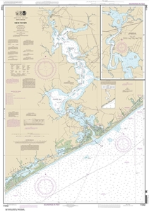 Picture of 11542 - New River Nautical Chart