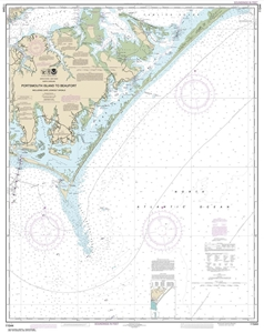 Picture of 11544 - Portsmouth Island To Beaufort, Including Cape Lookout Shoals Nautical Chart