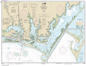 Picture of 11545 - Beaufort Inlet And Part of Core Sound Nautical Chart
