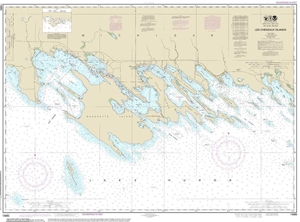Picture of 14885 - Les Cheneaux Islands Nautical Chart