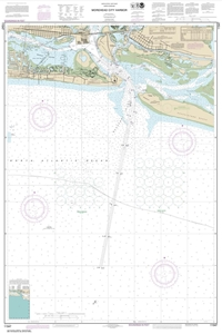 Picture of 11547 - Morehead City Harbor Nautical Chart