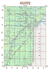 Picture of 46092 - Minnesota Topographic Maps