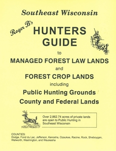 Picture of Roger B's Southeast Wisconsin Hunters Guide 2015 Edition