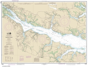 Picture of 11554 - Pamlico River Nautical Chart
