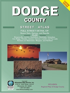 Picture of Dodge County Wisconsin Street Atlas