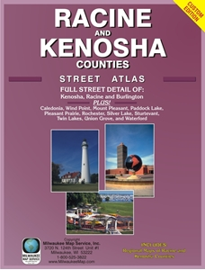 Picture of Racine County & Kenosha County Street Atlas