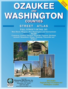 Picture of Ozaukee County & Washington County Street Atlas