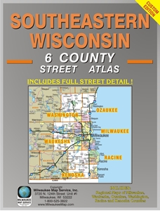 Picture of Southeastern Wisconsin 6 County Street Atlas (2016 Edition)
