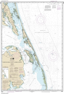 Picture of 12204 - Currituck Beach Light To Wimble Shoals Nautical Chart