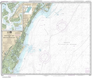 Picture of 12210 - Chincoteague Inlet To Great Machipongo Inlet Nautical Chart
