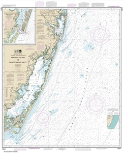 Picture of 12211 - Fenwick Island To Chincoteague Inlet Nautical Chart