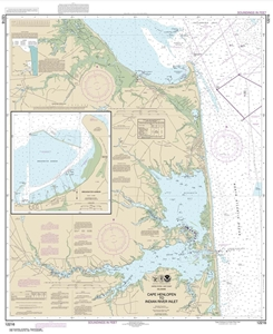 Picture of 12216 - Cape Henlopen To Indian River Inlet Nautical Chart