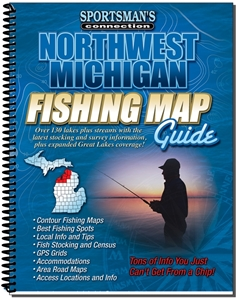 Picture of Northwest Michigan Fishing Map Guide