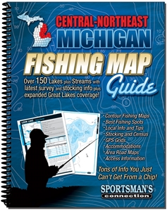 Picture of Central-Northeast Michigan Fishing Map Guide