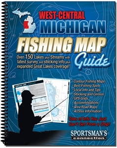 Picture of West Central Michigan Fishing Map Guide