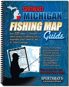Picture of Southeast Michigan Fishing Map Guide