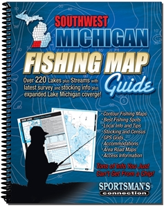 Picture of Southwest Michigan Fishing Map Guide