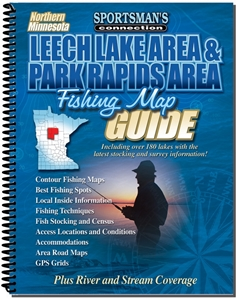 Picture of Northern Minnesota Leech Lake & Park Rapids Fishing Map Guide