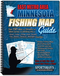 Picture of East Metro Area & East Central Minnesota Fishing Map Guide
