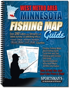 Picture of West Metro Area Minnesota Fishing Map Guide