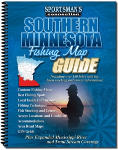 Picture of Southern Minnesota Fishing Map Guide
