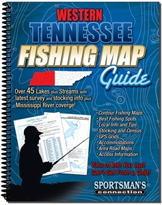Picture of Western Tennessee Fishing Map Guide