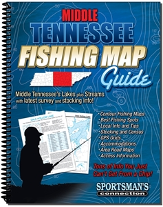Picture of Middle Tennessee Fishing Map Guide
