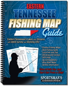 Picture of Eastern Tennessee Fishing Map Guide