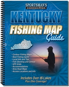 Picture of Kentucky Fishing Map Guide