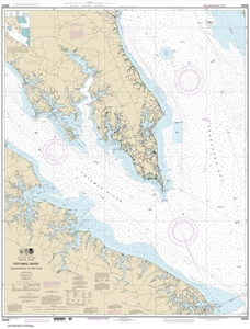 Picture of 12233 - Potomac River - Chesapeake Bay To Piney Point Nautical Chart