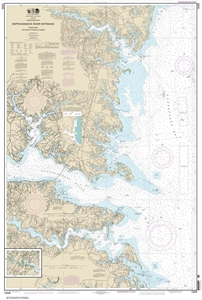 Picture of 12235 - Chesapeake Bay - Rappahannock River Entrance, Piankatank And Great Wicomico Rivers Nautical Chart