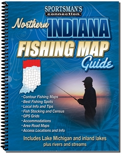 Picture of Northern Indiana Fishing Map Guide