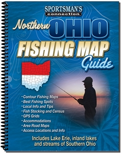 Picture of Northern Ohio Fishing Map Guide