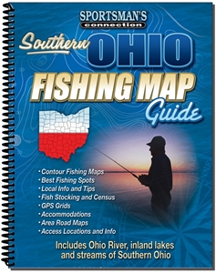 Picture of Southern Ohio Fishing Map Guide