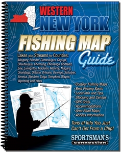Picture of Western New York Fishing Map Guide
