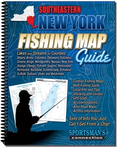 Picture of Southeastern New York Fishing Map Guide