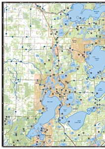 Picture of Minnesota (Central and Northwest) All-Outdoors Atlas