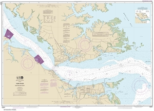 Picture of 12241 - York River - Yorktown And Vicinity Nautical Chart